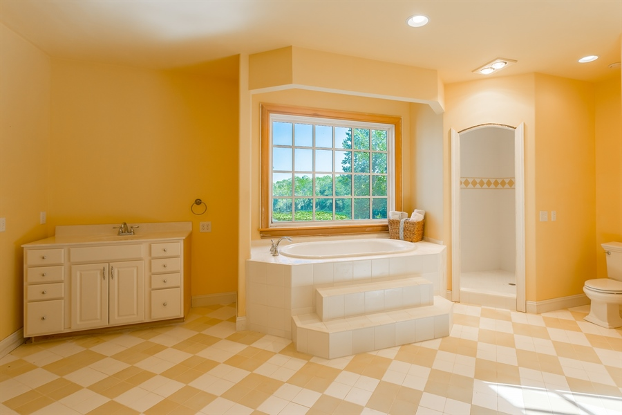 Real Estate Photography - 6393 Baileys Landing Drive, Bethel, DE, 19931 - BEDROOM  5 EN SUITE BATHROOM