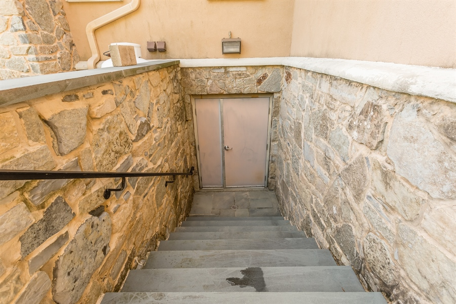 Real Estate Photography - 6393 Baileys Landing Drive, Bethel, DE, 19931 - 1 OF 2 OUTSIDE BASEMENT ENTRANCES