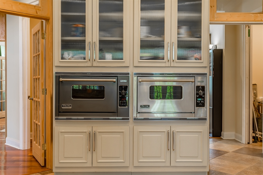 Real Estate Photography - 6393 Baileys Landing Drive, Bethel, DE, 19931 - DOUBLE VIKING WALL OVENS