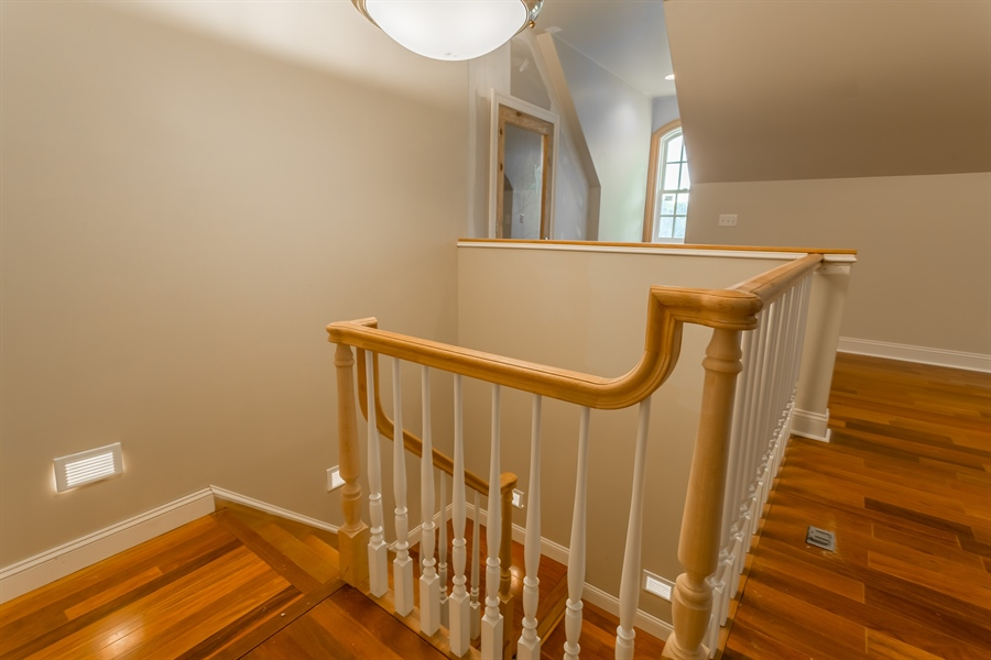 Real Estate Photography - 6393 Baileys Landing Drive, Bethel, DE, 19931 - BACK STAIRWAY