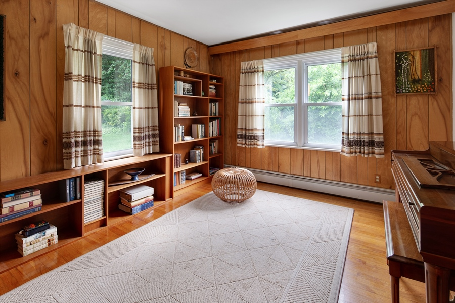 Real Estate Photography - 7 Council Trl, Wilmington, DE, 19810 - Another view of the office/den