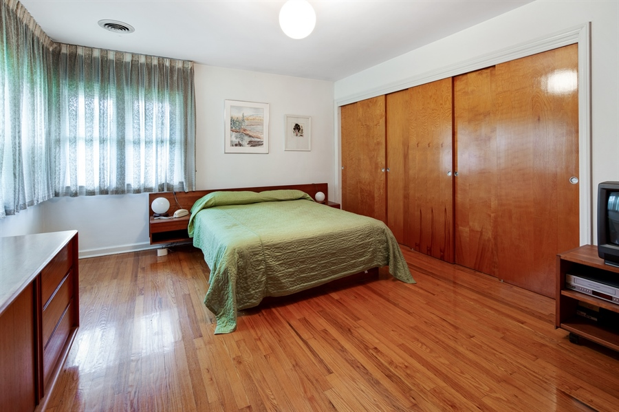 Real Estate Photography - 7 Council Trl, Wilmington, DE, 19810 - Master bedroom with wall of closets