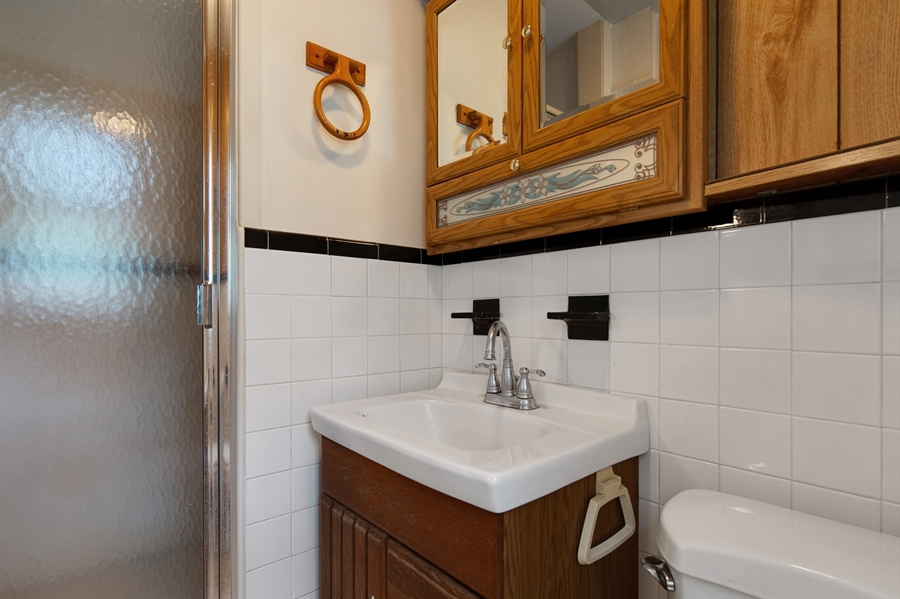 Real Estate Photography - 7 Council Trl, Wilmington, DE, 19810 - Master bath with stall shower
