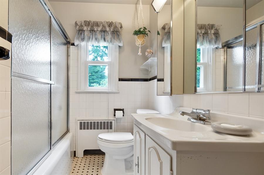 Real Estate Photography - 7 Council Trl, Wilmington, DE, 19810 - Hall bathroom
