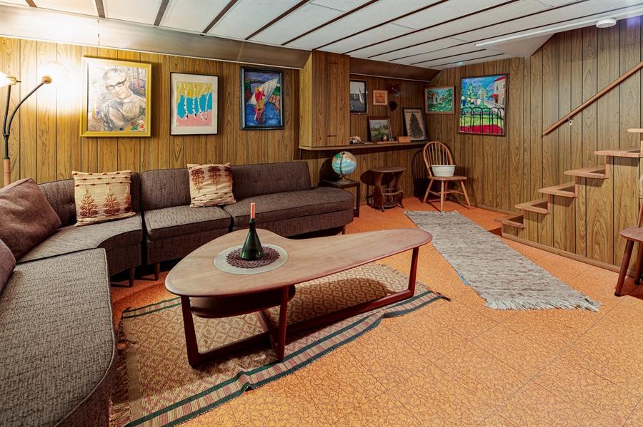 Real Estate Photography - 7 Council Trl, Wilmington, DE, 19810 - Finished basement