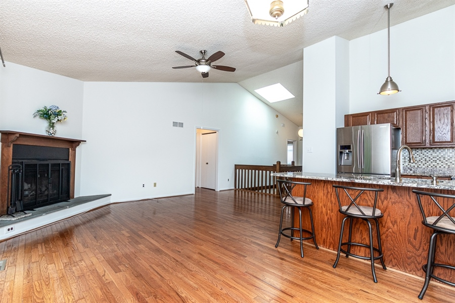 Real Estate Photography - 5518 Doral Dr, Wilmington, DE, 19808 - Open Concept - Alt View from Dining Area