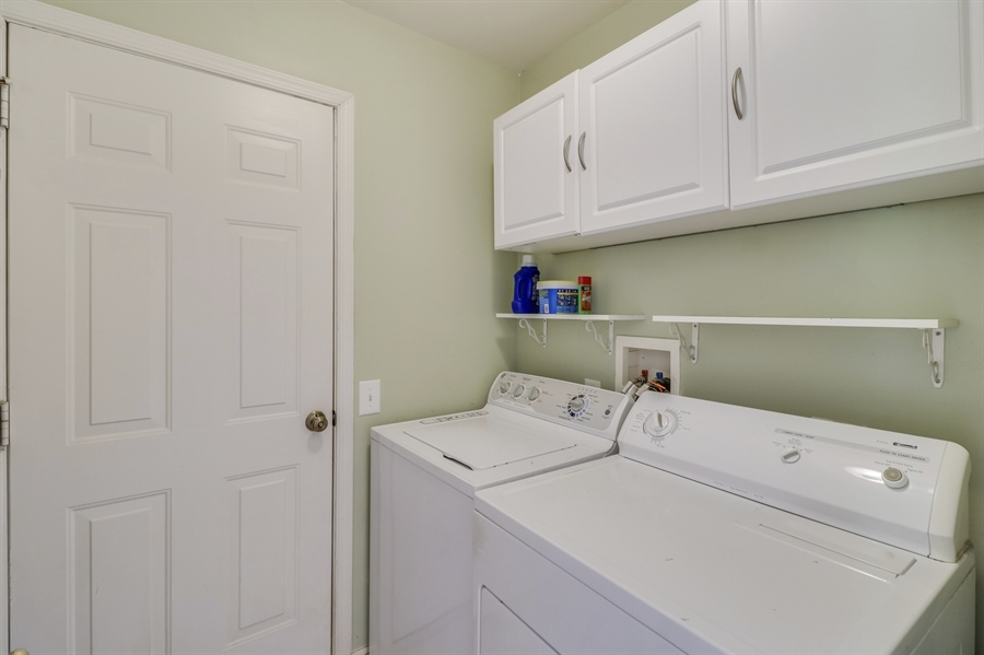Real Estate Photography - 8 W Minglewood Dr, Middletown, DE, 19709 - Main Level Laundry