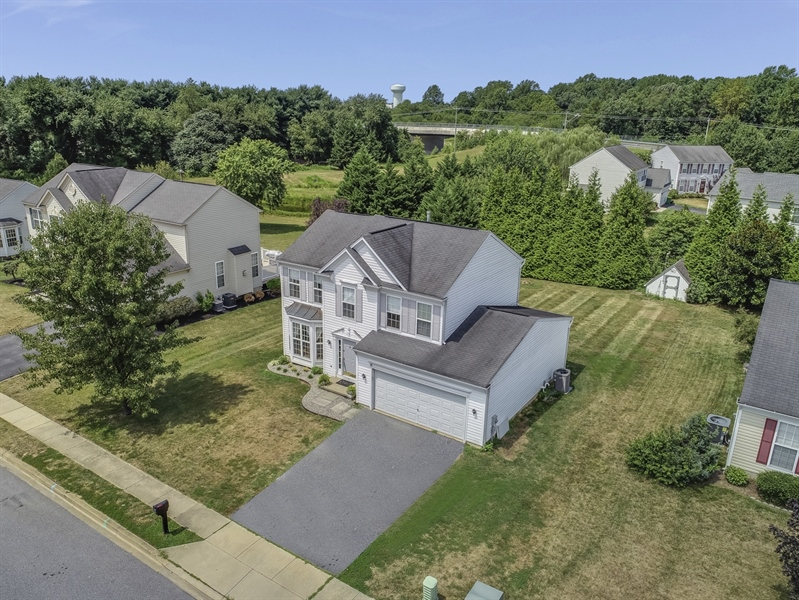Real Estate Photography - 8 W Minglewood Dr, Middletown, DE, 19709 - Overhead View