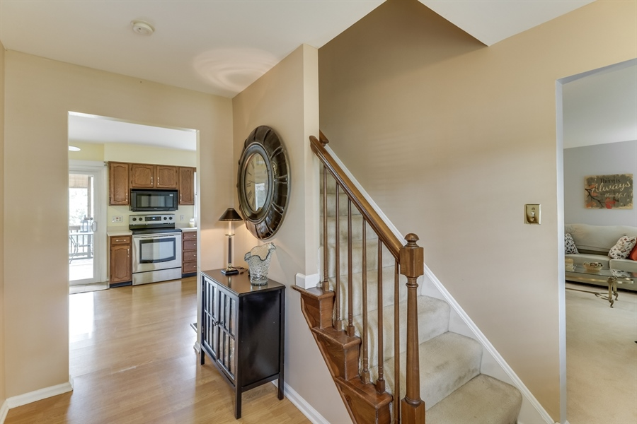 Real Estate Photography - 15 Stratton Cir, Elkton, MD, 21921 - Foyer looking thru to screen porch