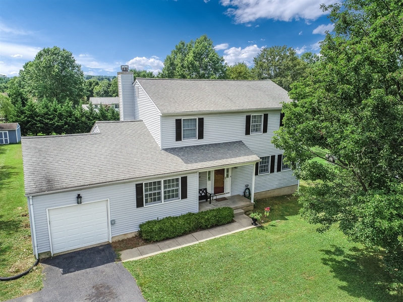 Real Estate Photography - 15 Stratton Cir, Elkton, MD, 21921 - Aerial View of Front