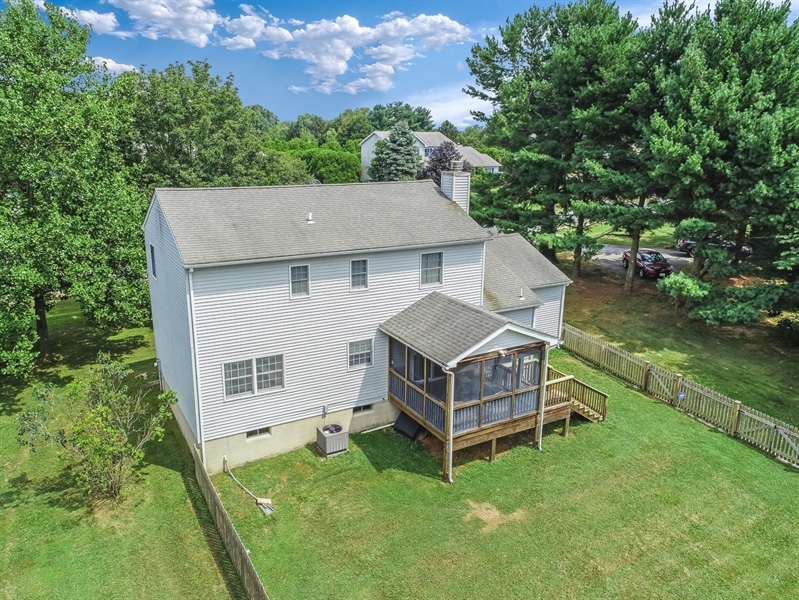 Real Estate Photography - 15 Stratton Cir, Elkton, MD, 21921 - Aerial View of Bank