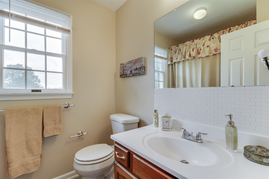 Real Estate Photography - 15 Stratton Cir, Elkton, MD, 21921 - Hall Bath