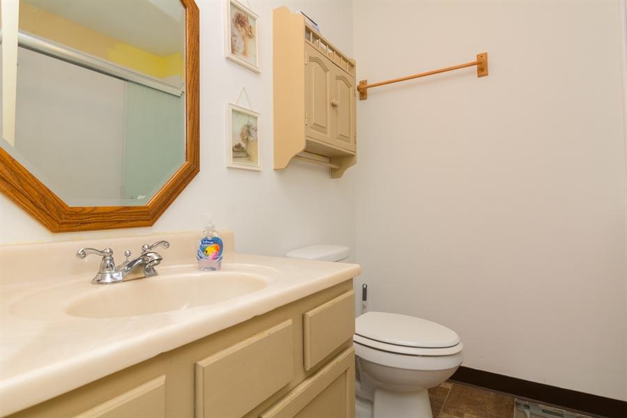 Real Estate Photography - 215 Magnolia Dr, Millsboro, DE, 19966 - Full bathroom in Hallway