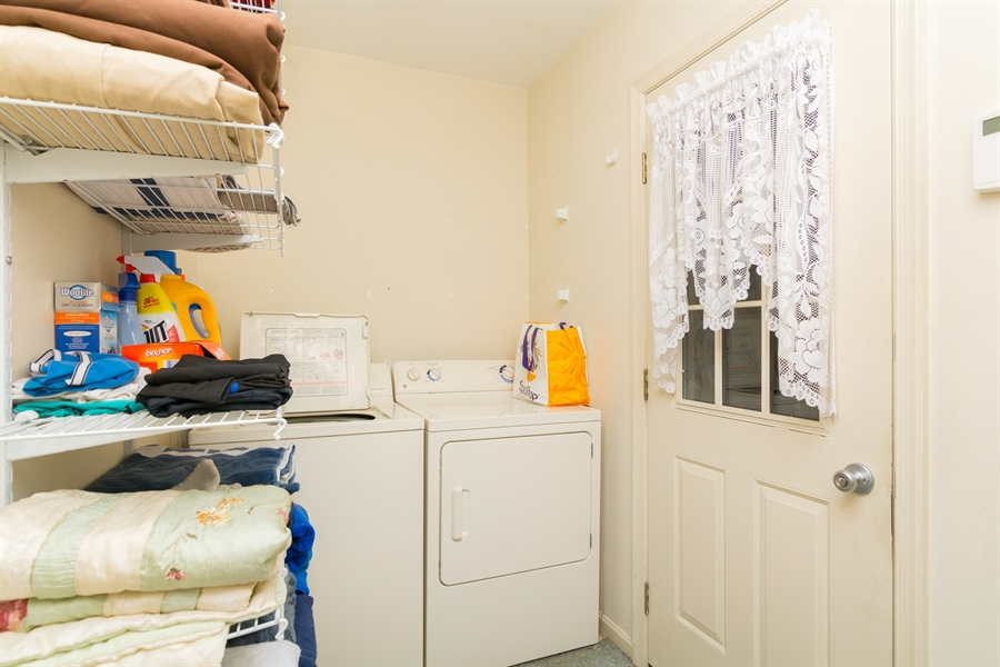 Real Estate Photography - 215 Magnolia Dr, Millsboro, DE, 19966 - Laundry Room