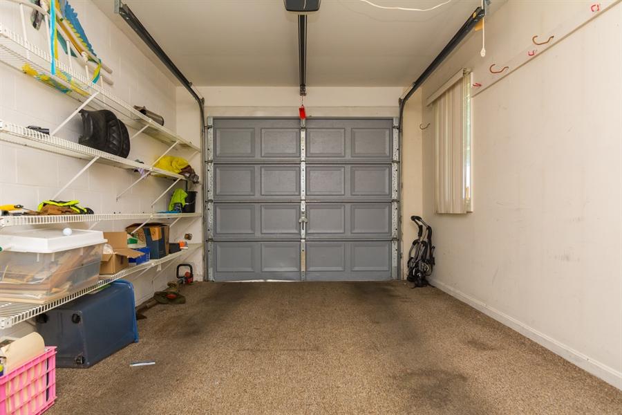 Real Estate Photography - 215 Magnolia Dr, Millsboro, DE, 19966 - Attached 1 car Garage