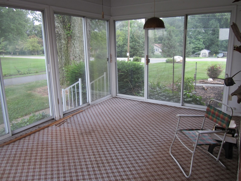Real Estate Photography - 6159 Telegraph Rd, Elkton, MD, 21921 - Sun Room w/ac/heat