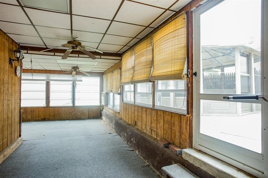 Real Estate Photography - 7 Leighty Cir, Wilmington, DE, 19804 - Enclosed Porch with A/C & Heat