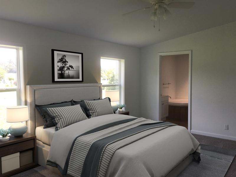 Real Estate Photography - 103 Crazy Horse Trl, Millsboro, DE, 19966 - Master Bedroom