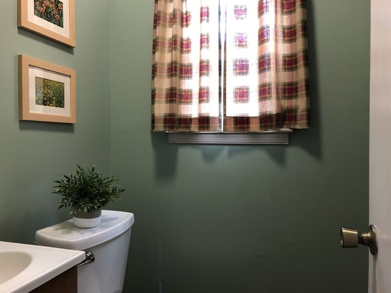 Real Estate Photography - 240 Tinsley Ct, Newark, DE, 19702 - Powder Room tucked away off kitchen