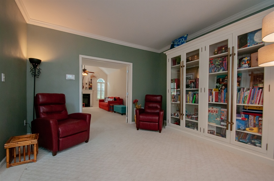 Real Estate Photography - 2 Lynam Lookout Dr, Newark, DE, 19702 - The formal living room with crown moulding