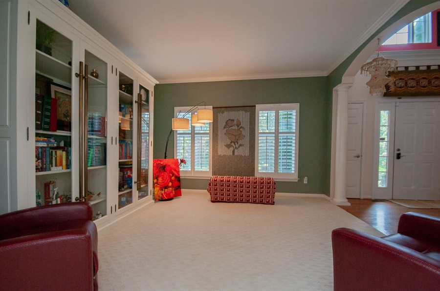 Real Estate Photography - 2 Lynam Lookout Dr, Newark, DE, 19702 - There's upgraded carpeting in the living room