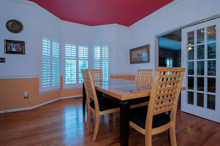 Real Estate Photography - 2 Lynam Lookout Dr, Newark, DE, 19702 - The formal dining room also has hardwood floors