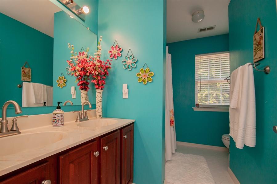 Real Estate Photography - 2 Lynam Lookout Dr, Newark, DE, 19702 - The hall bath has plenty of room!