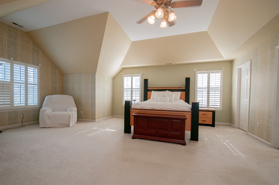 Real Estate Photography - 2 Lynam Lookout Dr, Newark, DE, 19702 - Double doors lead to the spacious master suite....