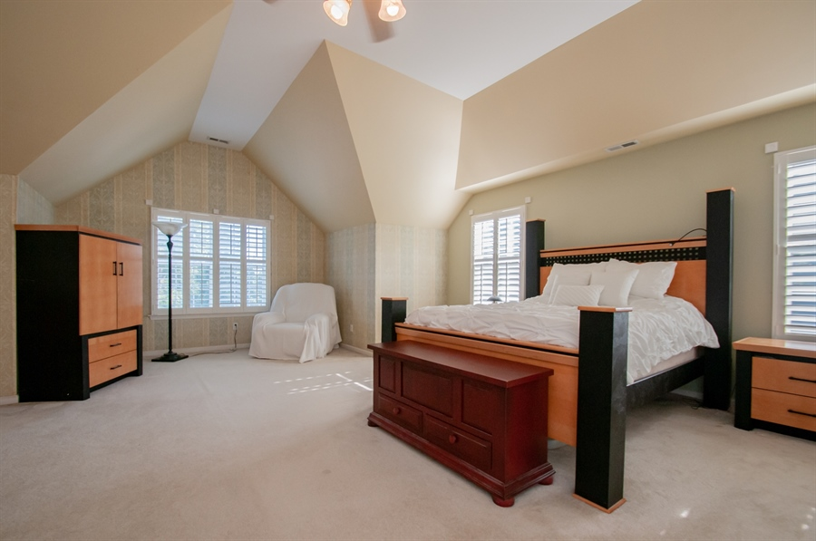 Real Estate Photography - 2 Lynam Lookout Dr, Newark, DE, 19702 - ...with tray ceiling & ceiling fan....