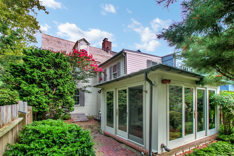 Real Estate Photography - 47 E 2nd St, New Castle, DE, 19720 - Four Season Sunroom with Copper Roof & gutters