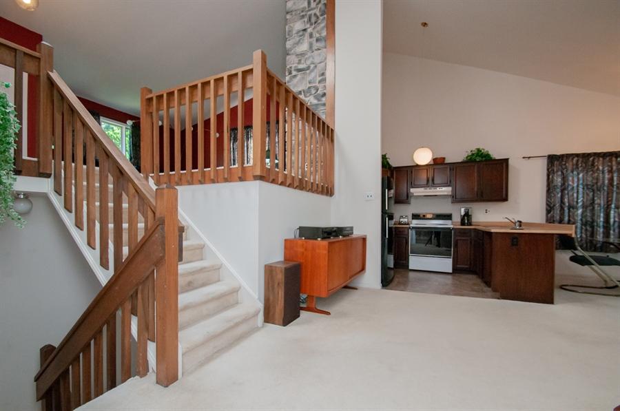 Real Estate Photography - 5455 Pinehurst Dr, Wilmington, DE, 19808 - Down 1 level takes you to the kitchen.....