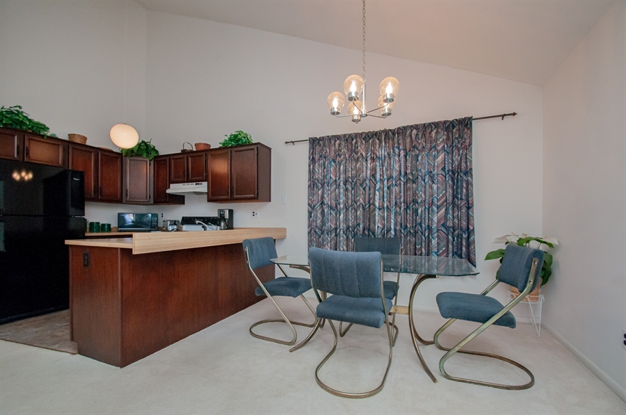 Real Estate Photography - 5455 Pinehurst Dr, Wilmington, DE, 19808 - ...which is open to the dining area....