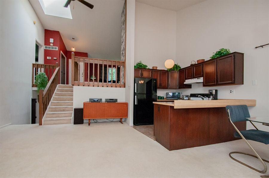 Real Estate Photography - 5455 Pinehurst Dr, Wilmington, DE, 19808 - View from the other side looking up