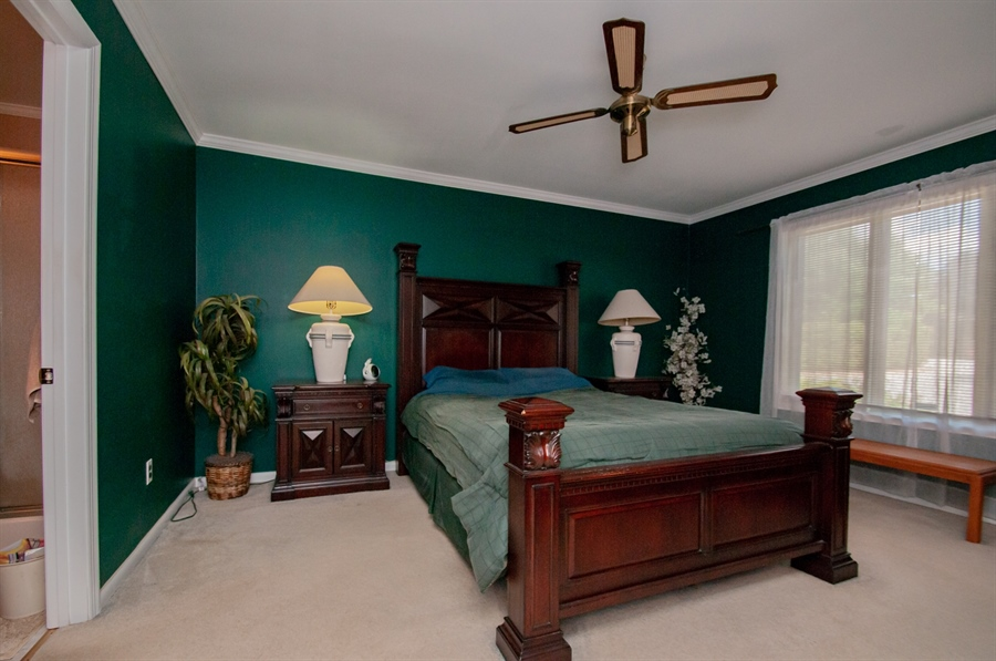 Real Estate Photography - 5455 Pinehurst Dr, Wilmington, DE, 19808 - The master bedroom is on the main level....