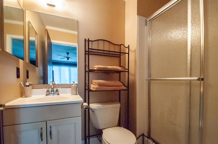 Real Estate Photography - 5455 Pinehurst Dr, Wilmington, DE, 19808 - ...and has it's own private bath.