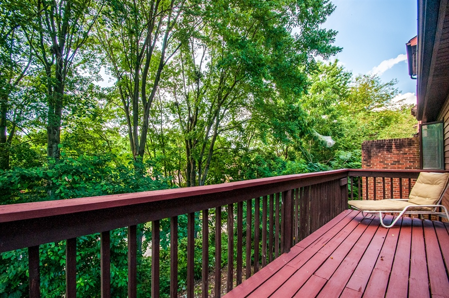 Real Estate Photography - 5455 Pinehurst Dr, Wilmington, DE, 19808 - The deck out back has a beautiful view!