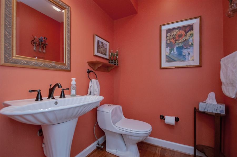 Real Estate Photography - 10 Laurel Ct, Wilmington, DE, 19808 - Powder Room is Updated