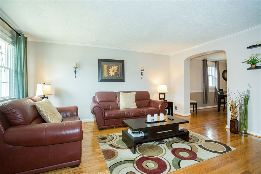 Real Estate Photography - 1002 Coyne Pl, Wilmington, DE, 19805 - Living Room