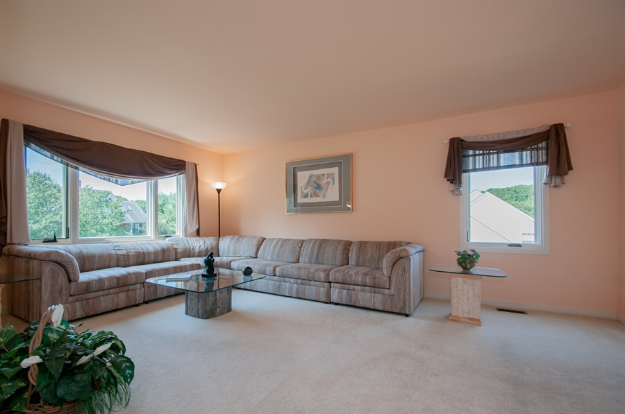 Real Estate Photography - 205 Louis Ln, Hockessin, DE, 19707 - Living Room w/ Big Front Window