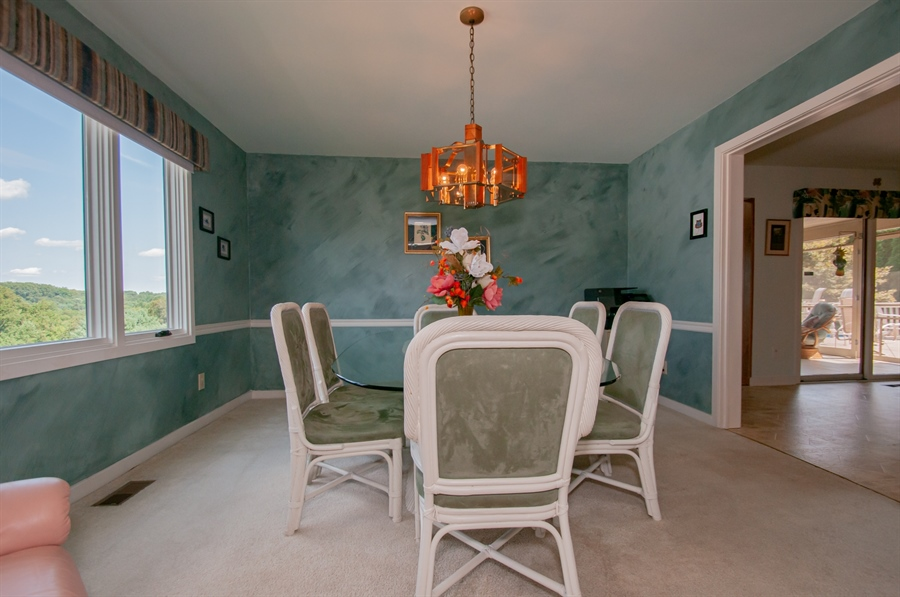 Real Estate Photography - 205 Louis Ln, Hockessin, DE, 19707 - Dining Room w/ Great Views