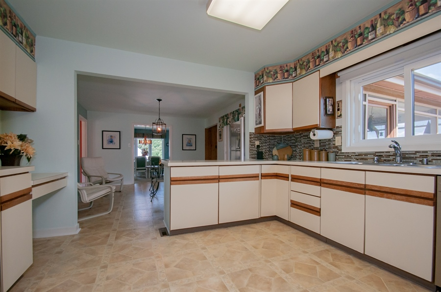 Real Estate Photography - 205 Louis Ln, Hockessin, DE, 19707 - Kitchen w/ Plenty of Counter Space