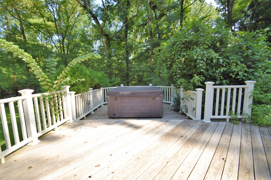 Real Estate Photography - 426 Arbour Dr, Newark, DE, 19713 - Deck and hot tub