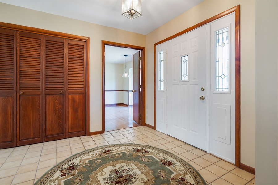 Real Estate Photography - 270 Delaplane Ave, Newark, DE, 19711 - Welcoming foyer with open staircase