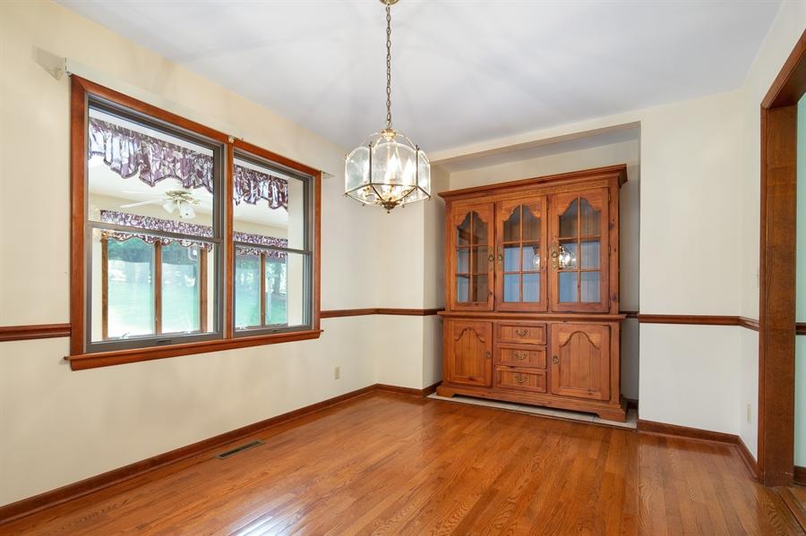 Real Estate Photography - 270 Delaplane Ave, Newark, DE, 19711 - Dining room with hardwood flooring