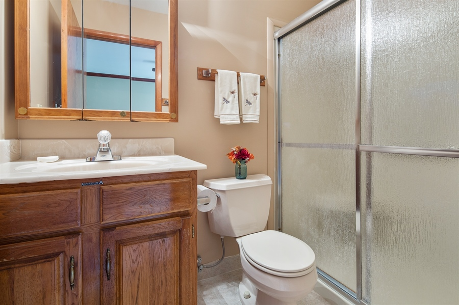 Real Estate Photography - 270 Delaplane Ave, Newark, DE, 19711 - Master bath with shower stall