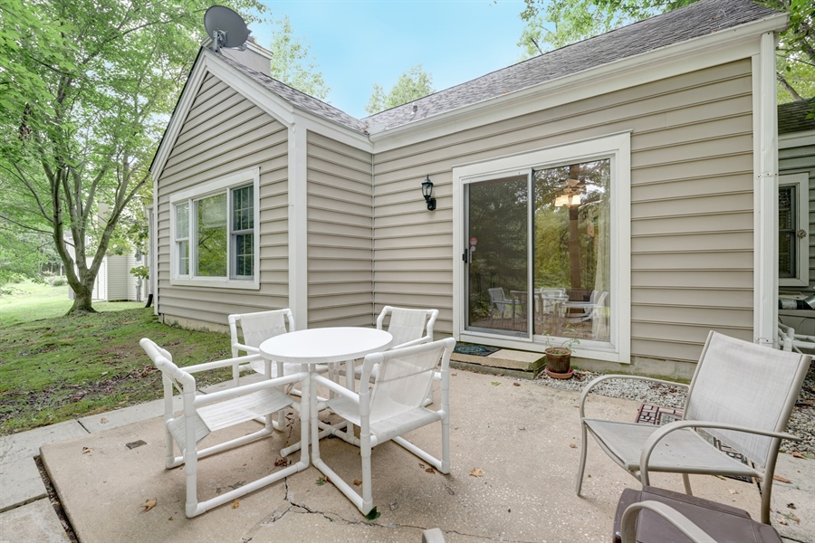 Real Estate Photography - 121 Ridge Run Rd, North East, MD, 21901 - Back Patio
