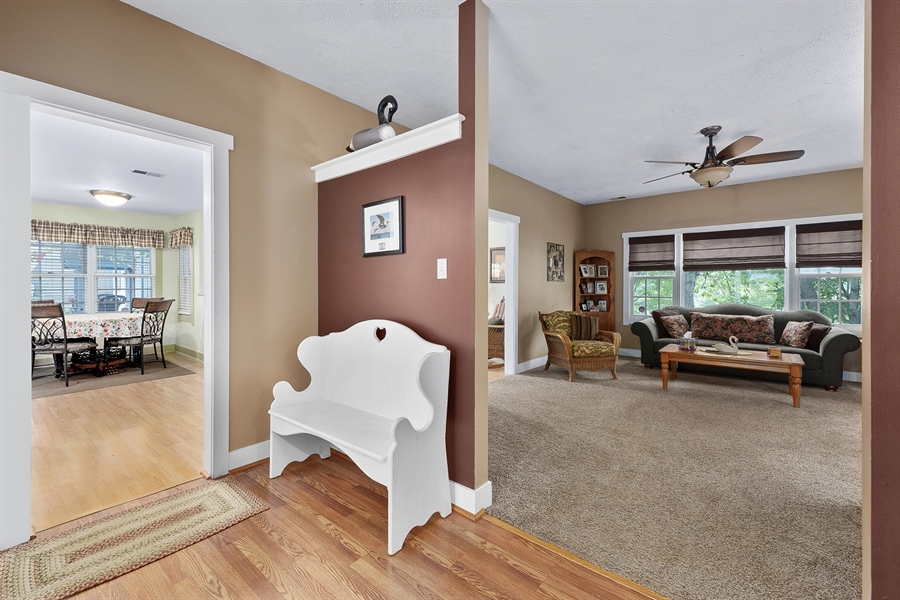 Real Estate Photography - 121 Ridge Run Rd, North East, MD, 21901 - Hallway/Living Room