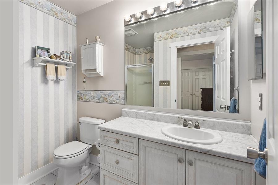 Real Estate Photography - 121 Ridge Run Rd, North East, MD, 21901 - Hall Bathroom
