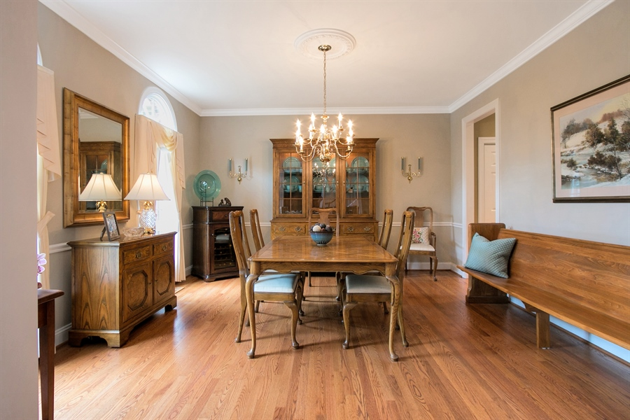 Real Estate Photography - 525 Ridgeview Dr, Hockessin, DE, 19707 - Formal Dining Room