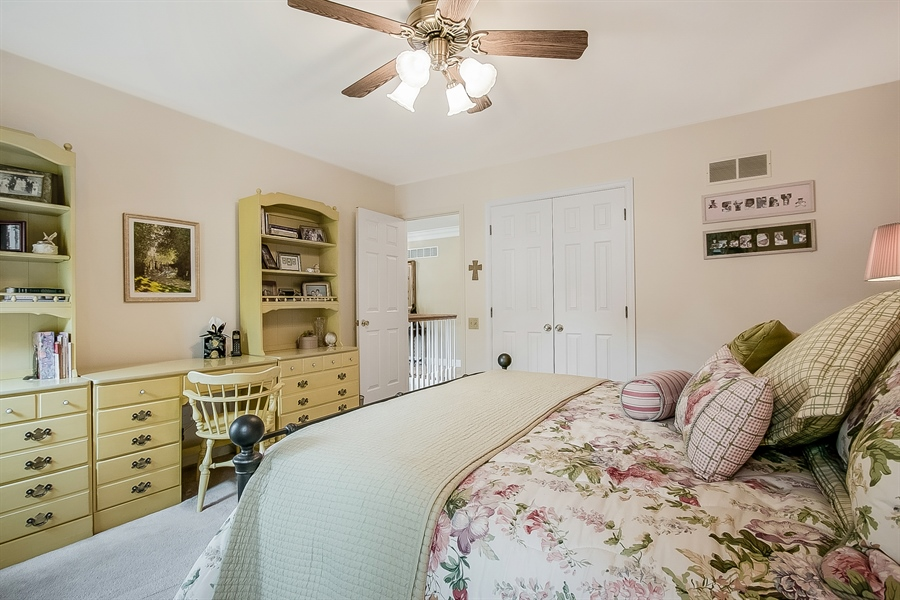 Real Estate Photography - 525 Ridgeview Dr, Hockessin, DE, 19707 - Another View of the Third Bedroom